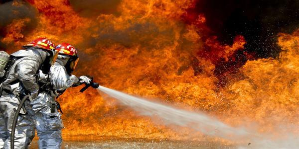 הגנה מפני שריפות עם ציוד כיבוי אש