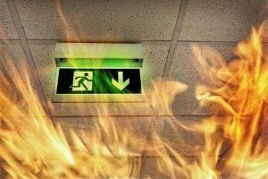 שריפה בבניין גבוה